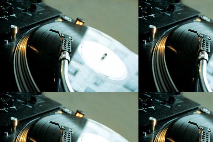 Vinylová Tapeta Platina dj - Hip hop