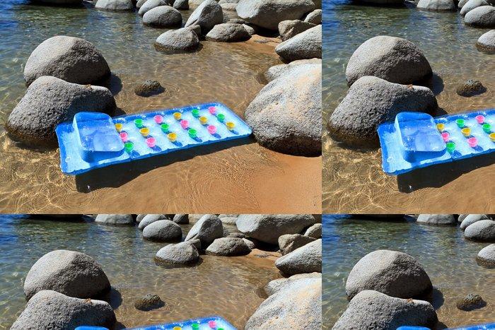 Tapeta Pixerstick Plavat matrace na čistou vodu - Amerika