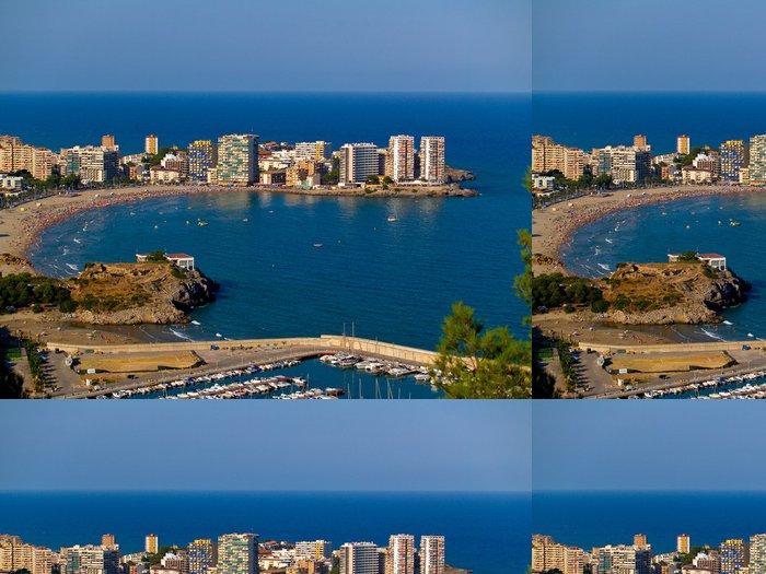 Vinylová Tapeta Playa del Mediterraneo - Prázdniny