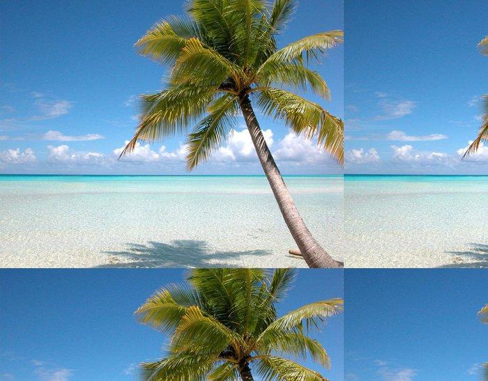 Tapeta Pixerstick Pláž a kokosové Turks & Islands - Bahamy - Amerika