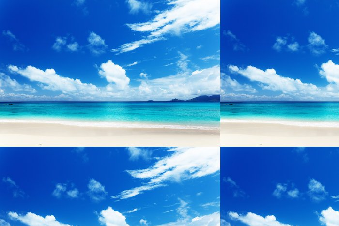 Vinylová Tapeta Pláž Mahe Island, Seychely - Voda