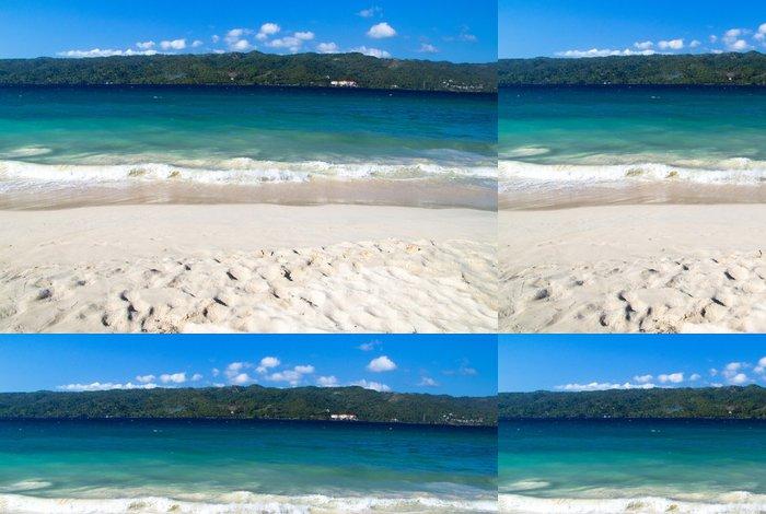 Tapeta Pixerstick Pláž moře - Voda