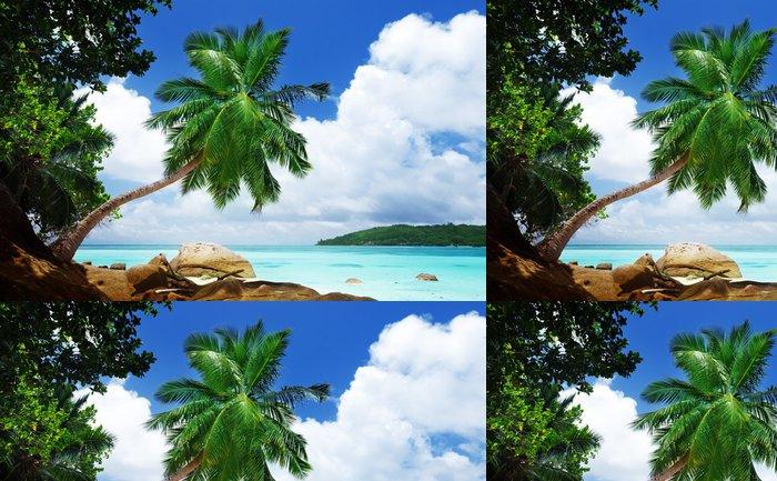 Vinylová Tapeta Pláž na ostrově Mahe Seychely - Voda