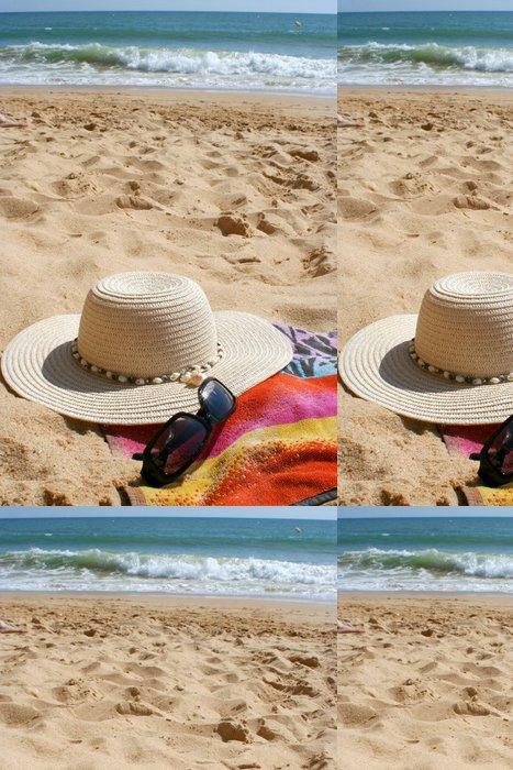Tapeta Pixerstick Pláž položky - Prázdniny