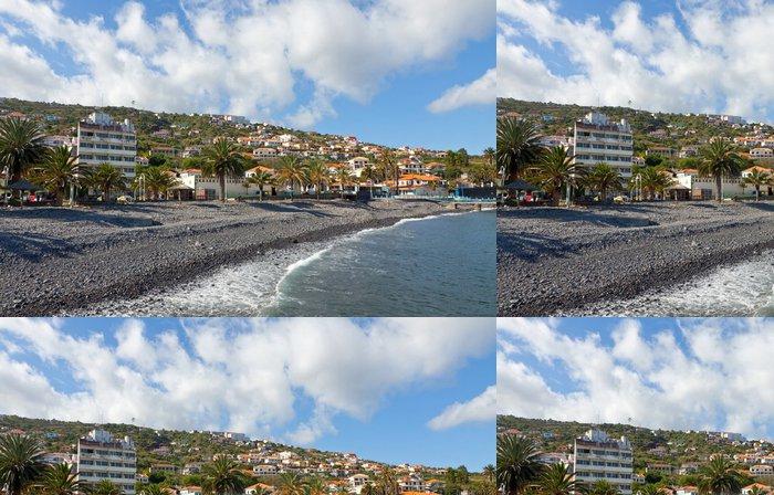 Tapeta Pixerstick Pláž v Santa Cruz, ostrov Madeira, Portugalsko - Voda