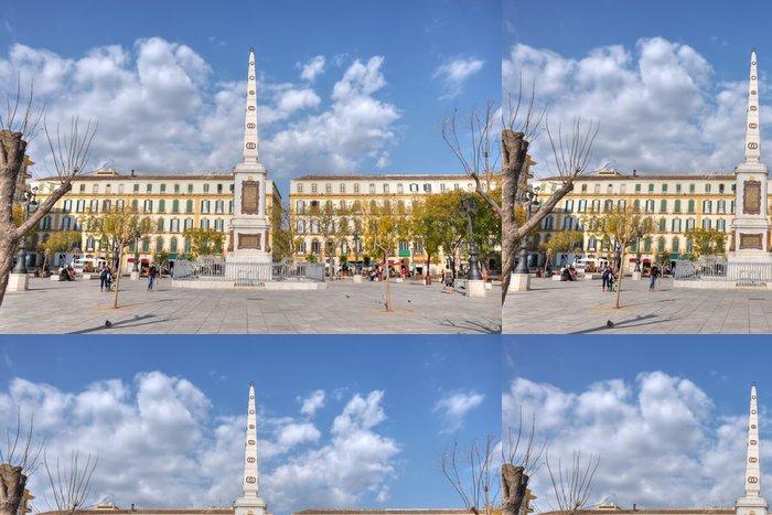 Tapeta Pixerstick Plaza de la Merced, Malaga, Španělsko - Evropa