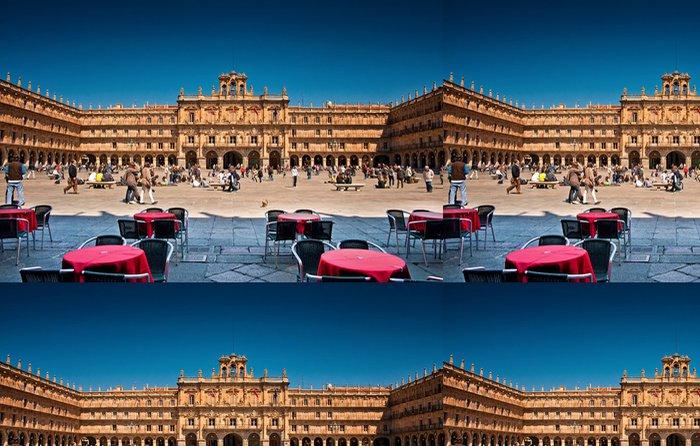 Tapeta Pixerstick Plaza Mayor Salamanca, Španělsko - Témata