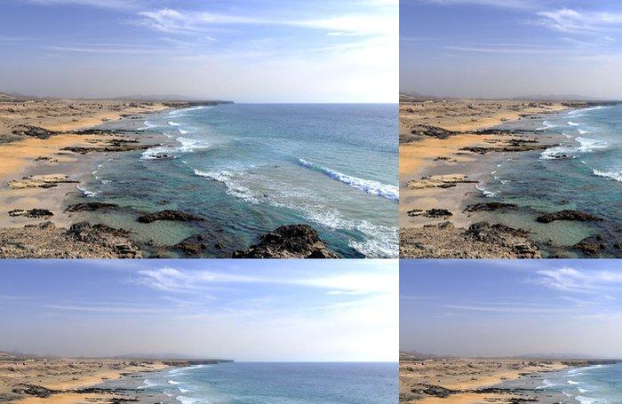 Tapeta Pixerstick Pláže ve městě Fuerteventura - Prázdniny