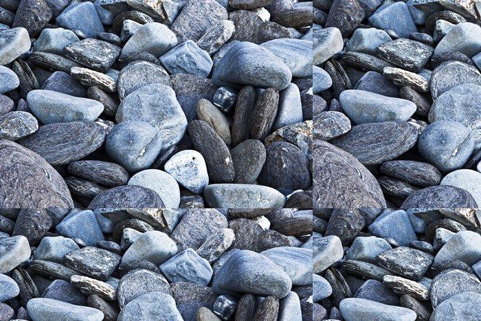 Tapeta Pixerstick Plážové kameny - Přírodní krásy
