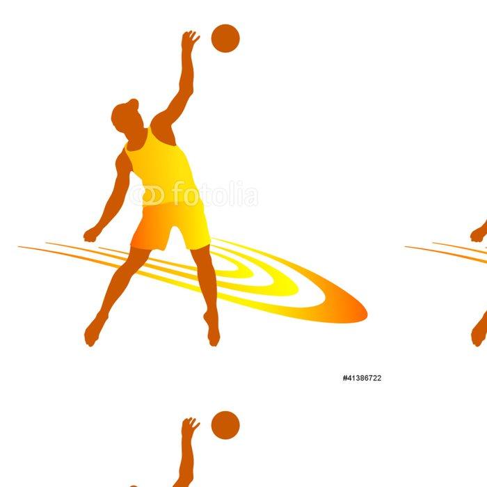 Tapeta Pixerstick Plážový volejbal - 8 - Nálepka na stěny