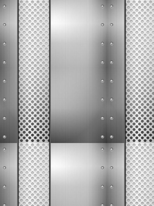 Tapeta Pixerstick Plechu a mřížky - Těžký průmysl