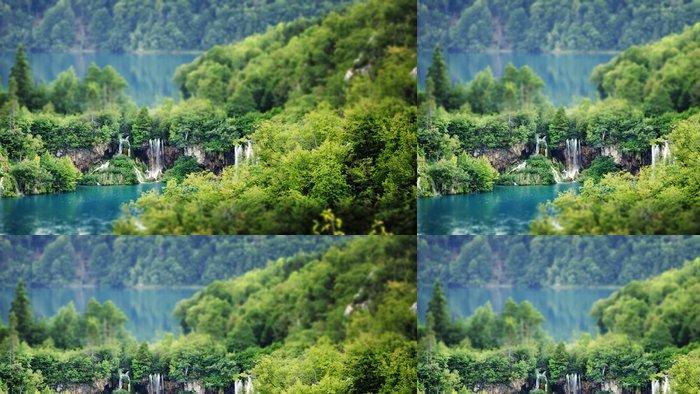 Tapeta Pixerstick Plitvická jezera, Chorvatsko - Evropa