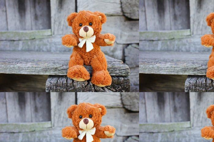Vinylová Tapeta Plyšová hračka Teddy Bear - Hry