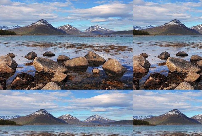 Tapeta Pixerstick Pobřeží v Norsku - Témata