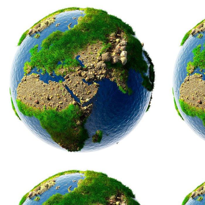 Tapeta Pixerstick Podrobná koncepce povaha Zemi v miniaturní - Meziplanetární prostor