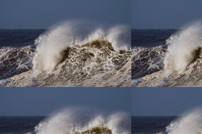 Tapeta Pixerstick Podrobné velká vlna - Voda