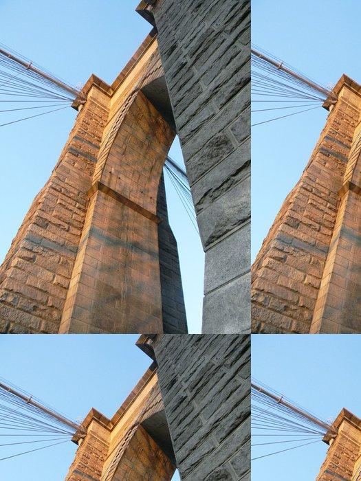 Vinylová Tapeta Podrobnosti o Brooklyn Bridge - Americká města