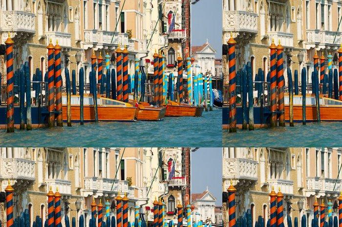 Vinylová Tapeta Podrobnosti o Canal Grande v Benátkách - Evropská města