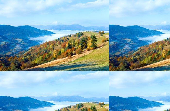 Tapeta Pixerstick Podzim horský les - Roční období