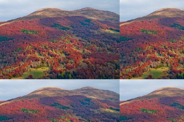 Tapeta Pixerstick Podzim na horách - Roční období