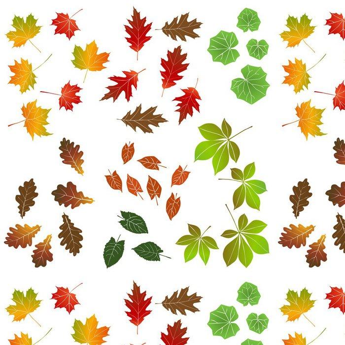 Tapeta Pixerstick Podzimní listí, kolekce pro projektanty - Přírodní krásy