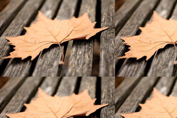 Tapeta Pixerstick Podzimní listí - Roční období