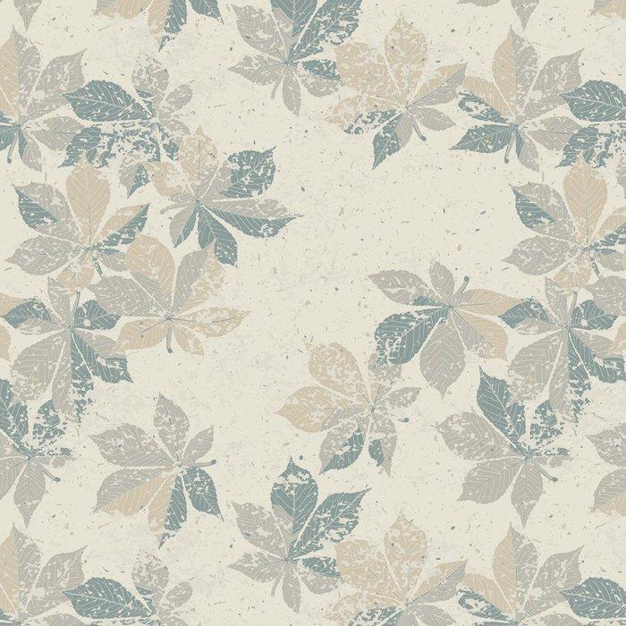 Tapeta Pixerstick Podzimní příroda na téma bezproblémové vzorek, vektor, eps10 - Přírodní krásy