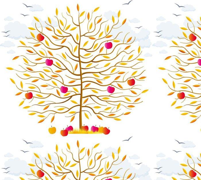 Tapeta Pixerstick Podzimní strom - Roční období