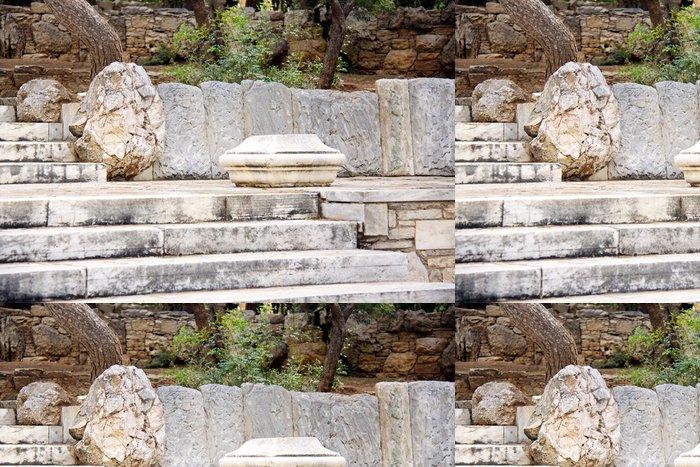 Tapeta Pixerstick Pohled na Athény - Evropa