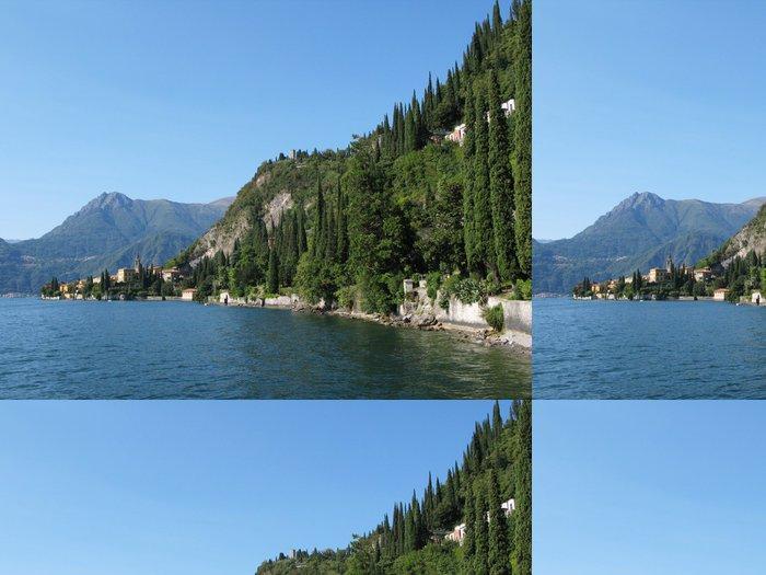 Tapeta Pixerstick Pohled na jezera Como od vily Monastero. Itálie - Voda