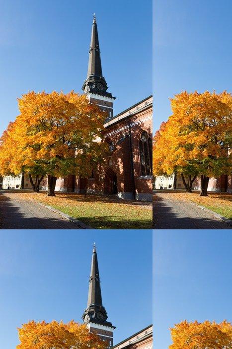 Tapeta Pixerstick Pohled na katedrálu Västerås - Evropa