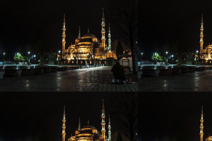 Vinylová Tapeta Pohled na Modré mešity v sultanahmed, Istanbul - Evropa