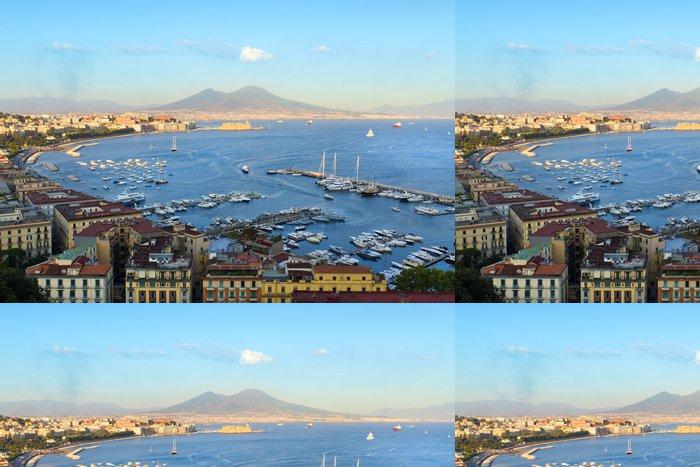 Tapeta Pixerstick Pohled na Neapolský záliv - Evropa