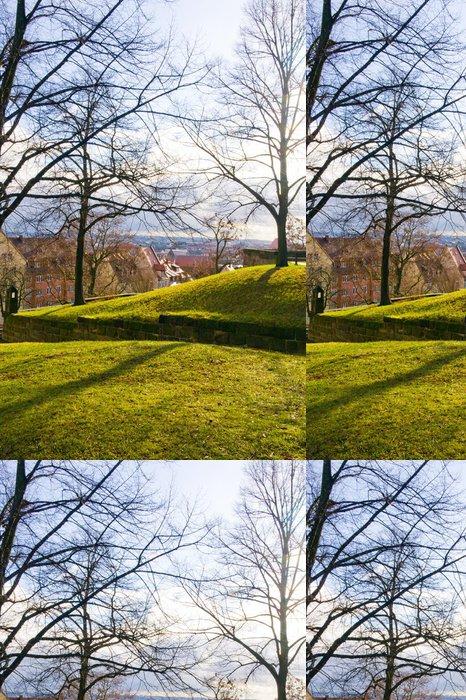 Vinylová Tapeta Pohled na Norimberku ve dnech 06. leden 2012. Bavorsko, Německo. - Evropa