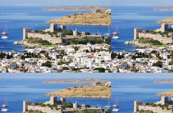 Tapeta Pixerstick Pohled na přístav Bodrum během horkého letního dne. Turecká riviéra - Asie