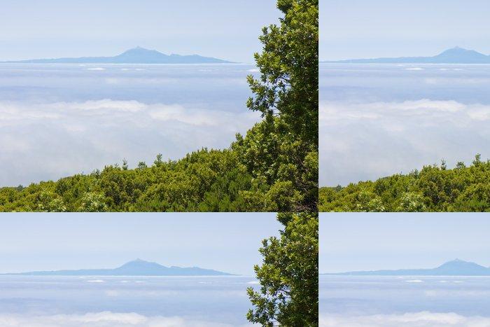 Tapeta Pixerstick Pohled na Tenerife z La Palma - Voda