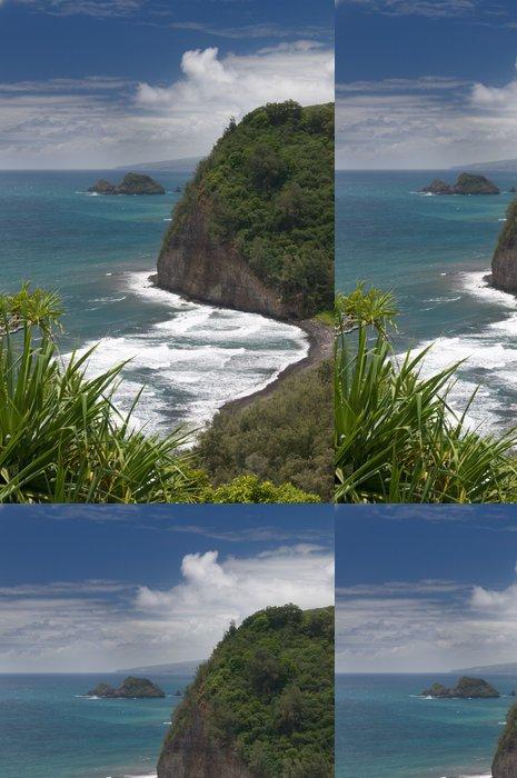Tapeta Pixerstick Pohled z rozhledny Pololu, Big Island, Hawaii - Témata