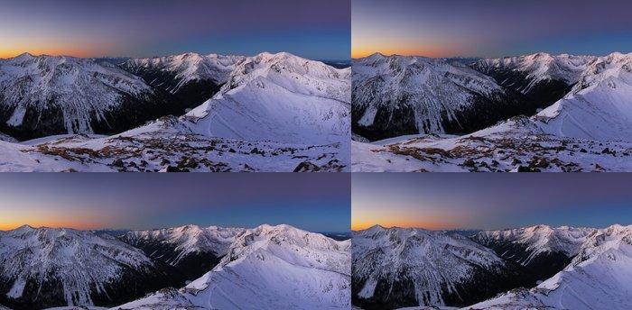 Tapeta Pixerstick Polsko horské krajiny v zimě - Témata