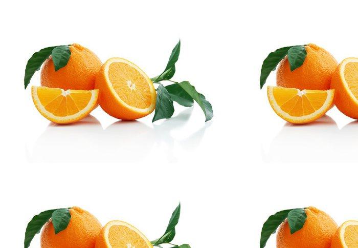 Vinylová Tapeta Pomeranč - Ovoce