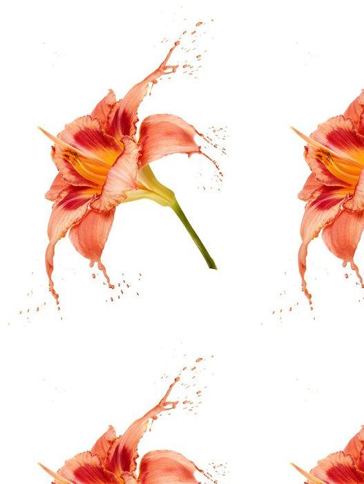 Tapeta Pixerstick Pomerančového květu postříkání - Květiny