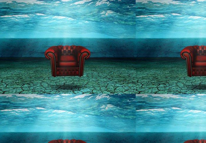 Tapeta Pixerstick Ponořený Židle v ponořených Desert Ruins Plováky - Podvodní svět