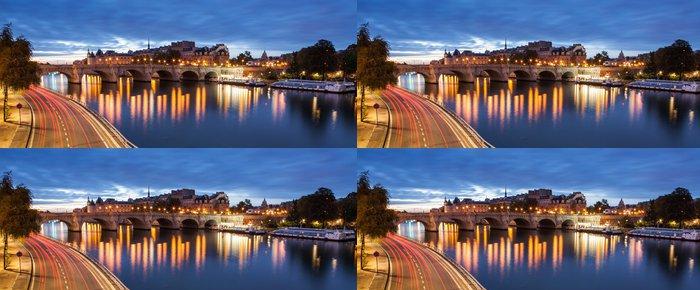 Tapeta Pixerstick Pont Neuf v Paříži, Francie - Témata