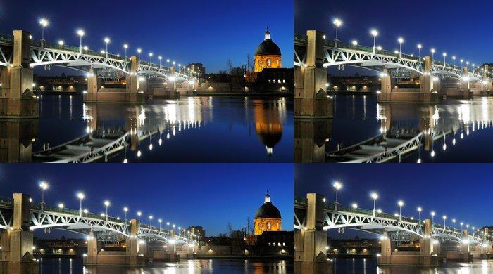Tapeta Pixerstick Pont Saint Pierre à Toulouse - Prázdniny