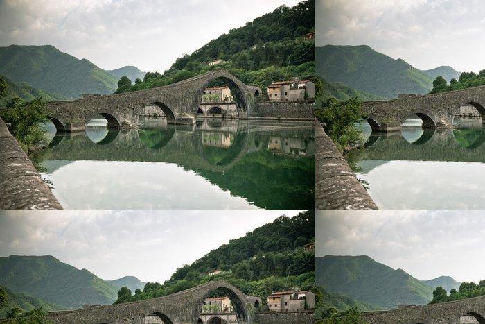 Tapeta Pixerstick Ponte della Maddalena, Itálie - Témata