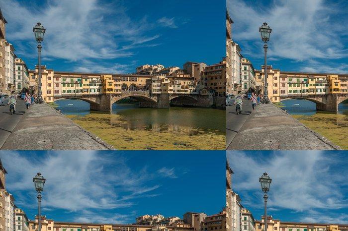 Vinylová Tapeta Ponte Vecchio, Florencie, Itálie - Evropa