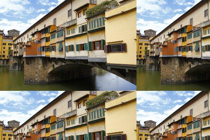 Tapeta Pixerstick Ponte Vecchio v Firenze, Itálie - Evropa