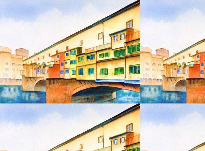Tapeta Pixerstick Ponte Vecchio - Evropa