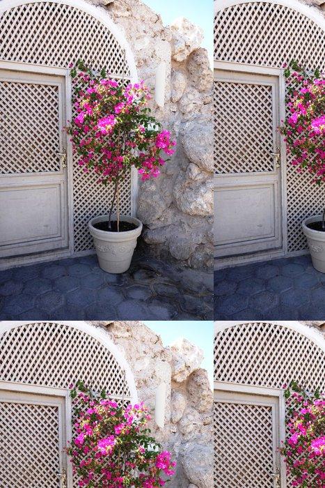 Tapeta Pixerstick Popínavé rostliny v přední části domu - Rostliny