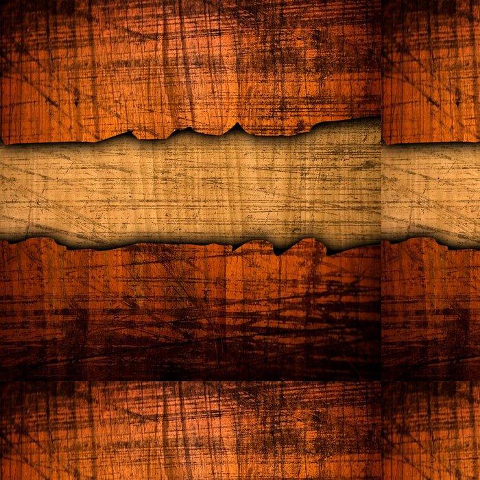 Tapeta Pixerstick Popraskané dřevo pozadí - Těžký průmysl