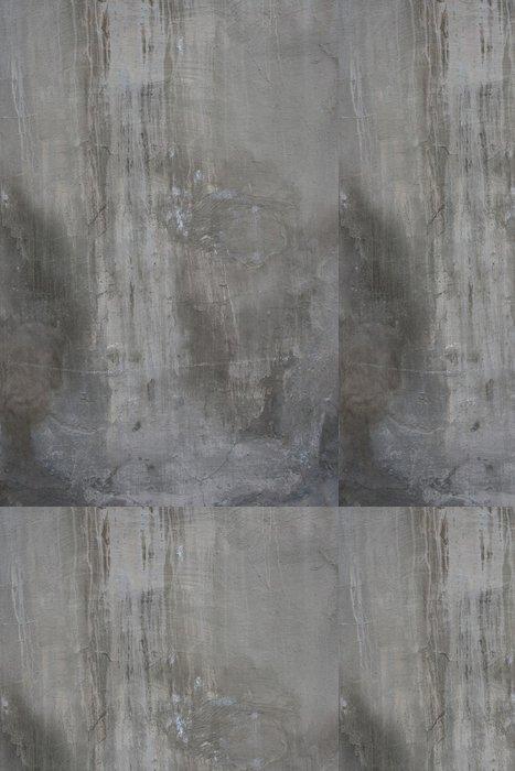 Tapeta Pixerstick Popraskané starý šedý cement betonová kamenná zeď vinobraní špinavý - iStaging